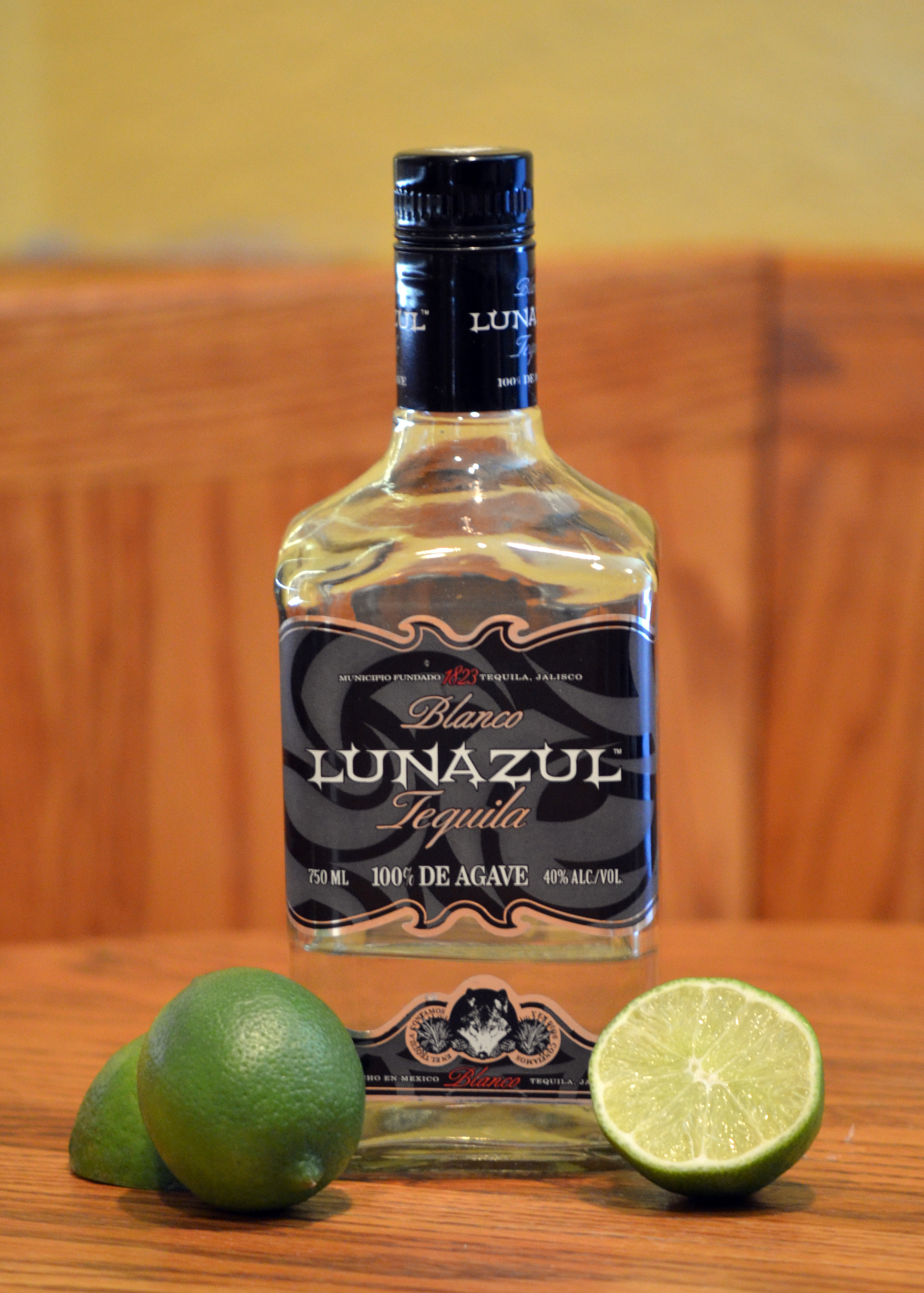 The BerryRitas used Lunazul Blanco, which is very good ... and less ...