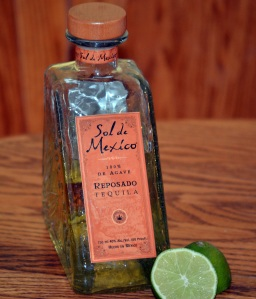 We used Sol de Mexico Reposado with this recipe. It's one of my favorites ... but the family prefers Don Celso Reposado.