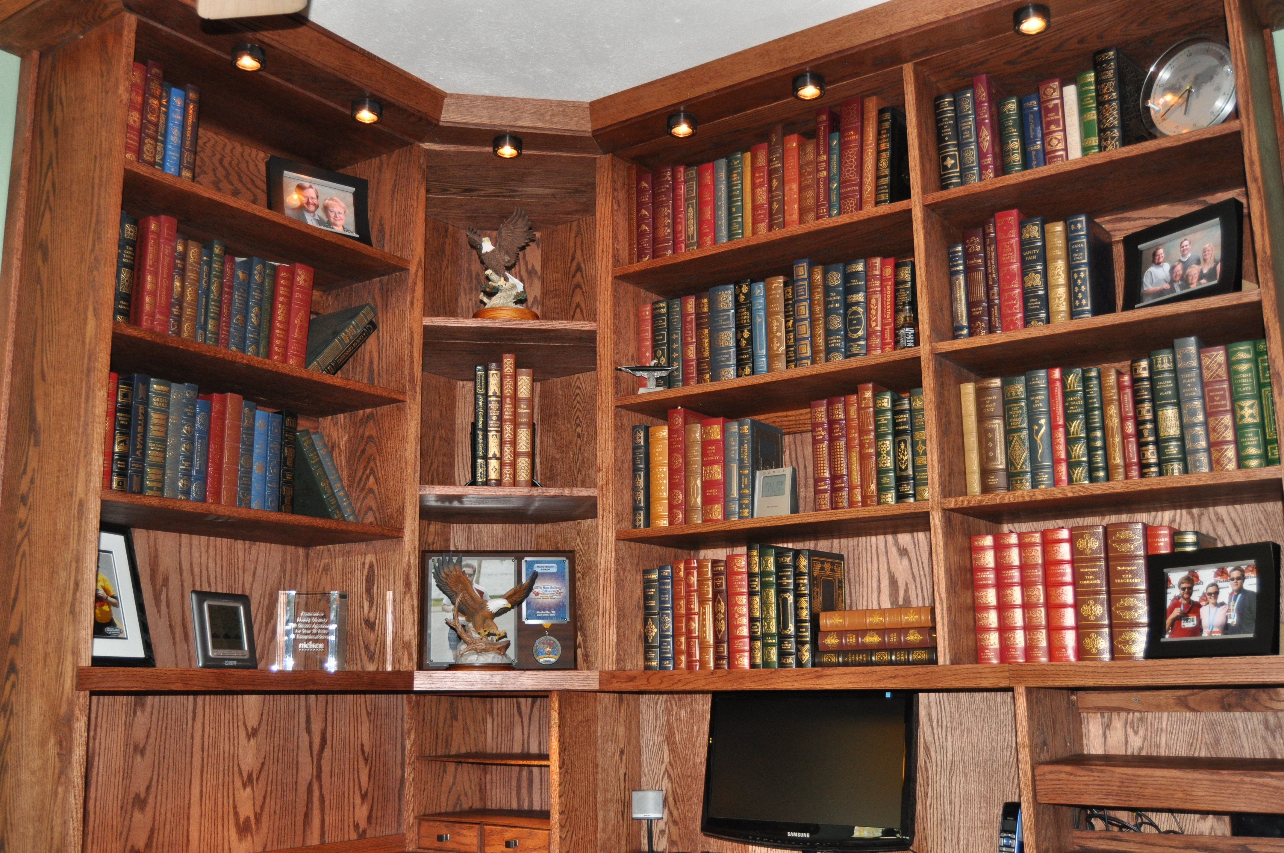 Home libraries, Libraries and Book on Pinterest