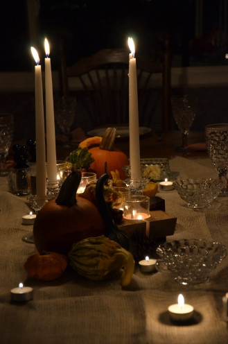 Thanksgiving Table, Centerpiece