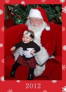 Mowry, Payton, Santa 2012