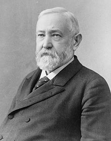 Benjamin Harrison was 7 years old at the time of his Grandfather William Henry Harrison's inauguration as President, but he did not attend the ceremony.