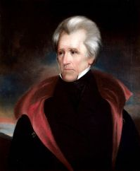 Andrew Jackson, the popular vote winner in 1824, but not President until he won again in 1828.