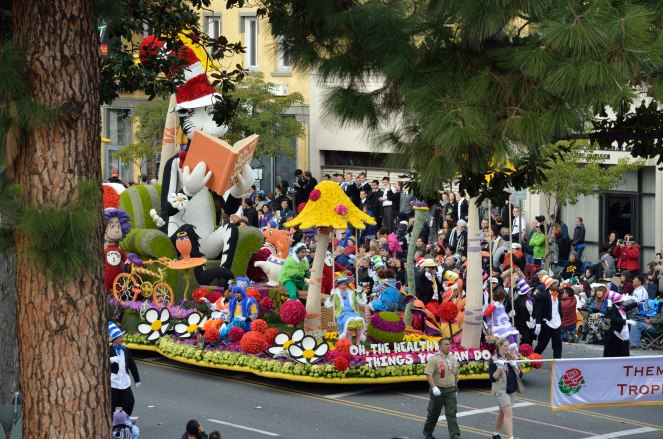 Big fan of the Kaiser float! It's an award winner; Eagle Scouts carry those signs in front of the floats.