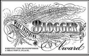 Very Inpiring Blog Award