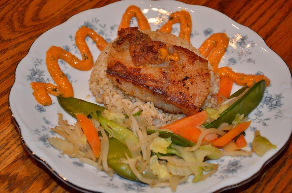 Black Cod Dinner