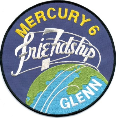 Glenn, John, Mercury Patch