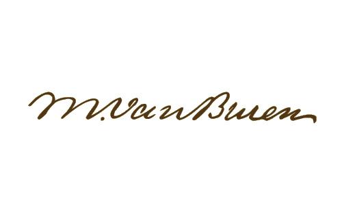 Martin Van Buren Signature