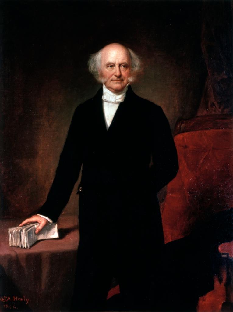 Martin Van Buren, Official White House Portrait