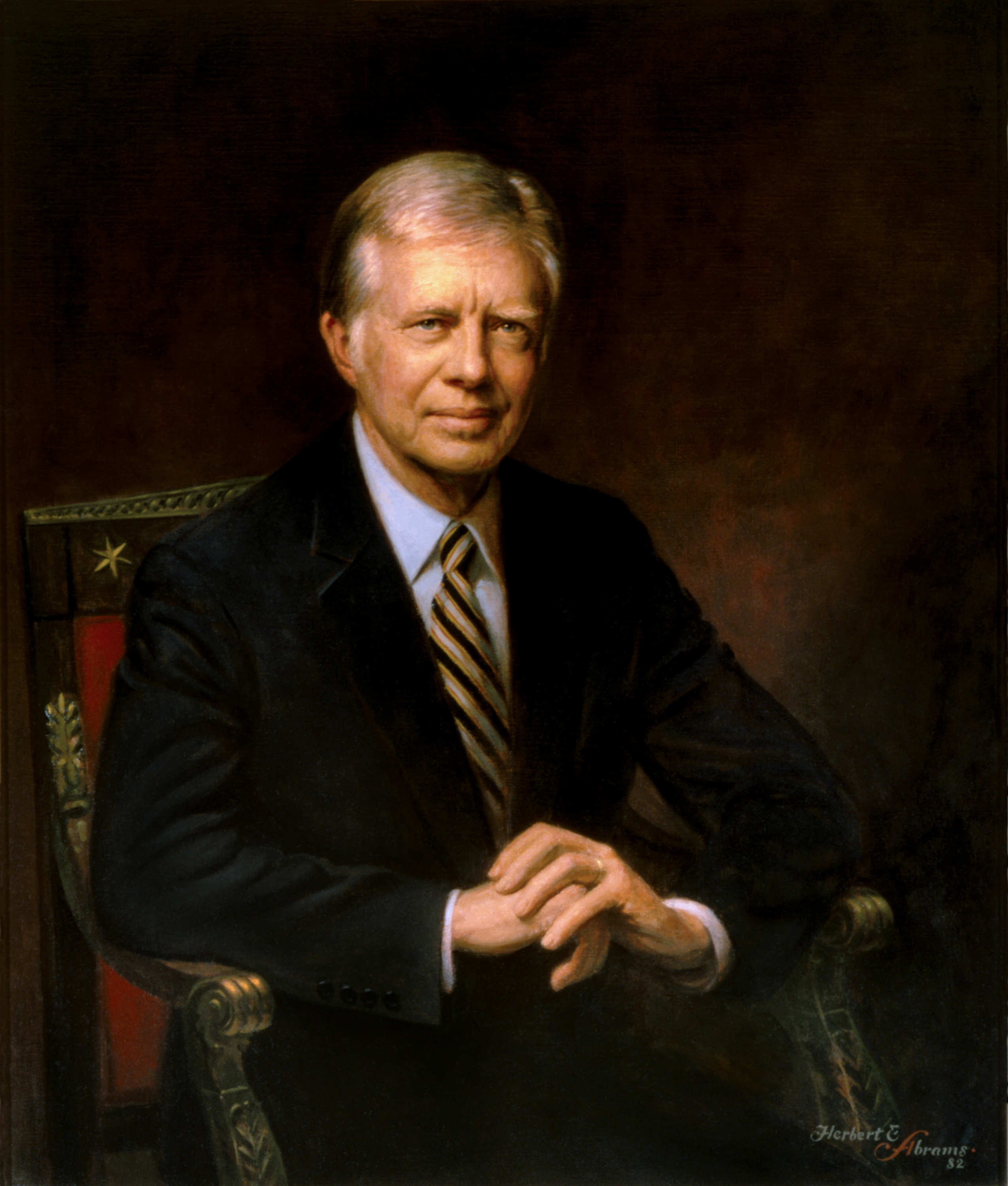 Portraits jimmy carter for How did the white house get its name