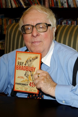 """""""There are worse crimes than burning books. One of them is not reading them.""""- Ray Bradbury"""