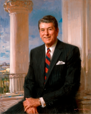 Ronald Reagan, Official White House Portrait