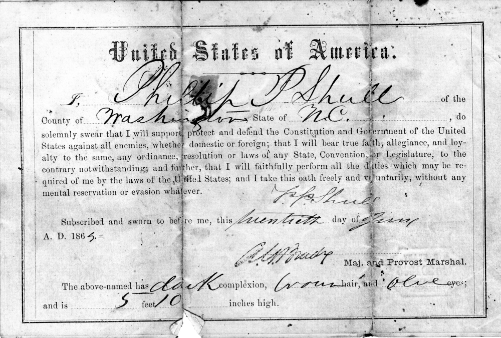 PP's Signed Oath