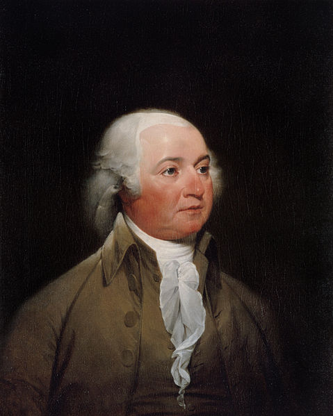 Portrait portrait of john adams by john trumbull c 1792 93