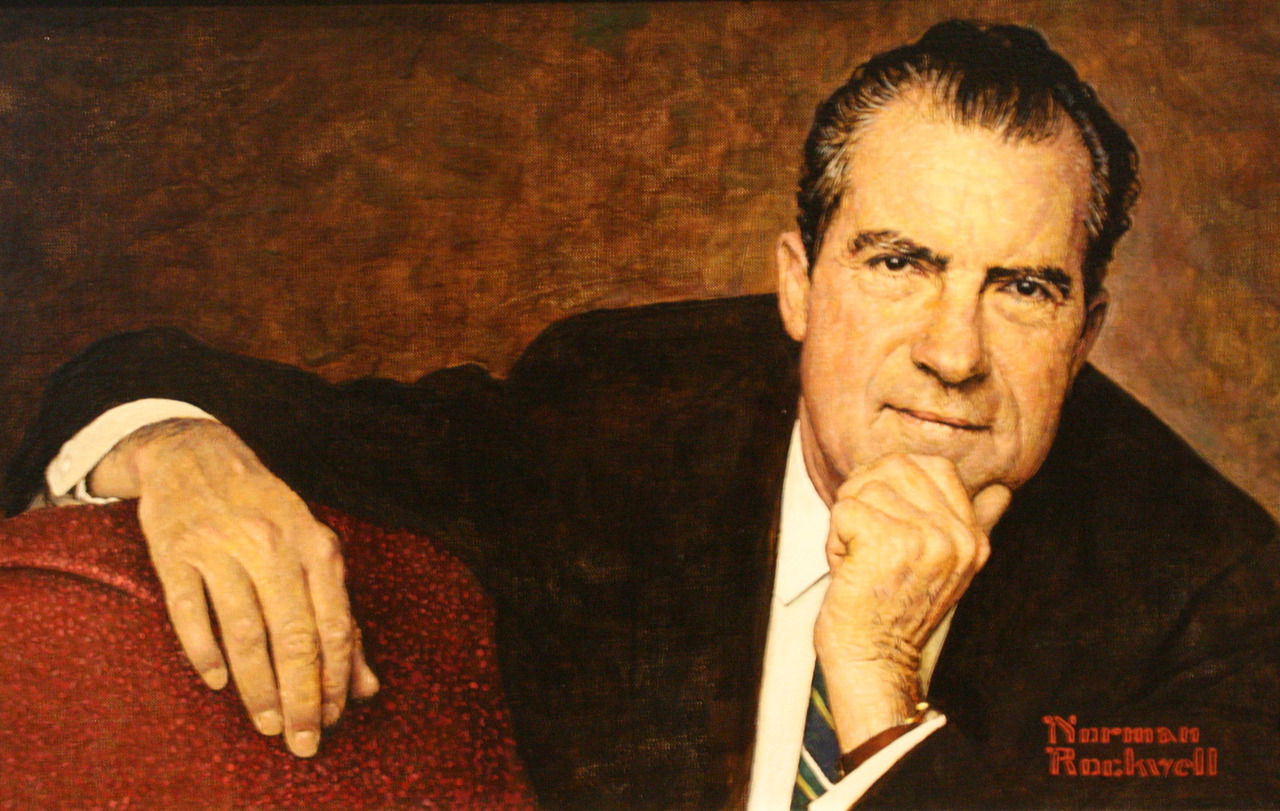 """a biography of richard nixon and his presidency It was dec 14, 1972 — right after richard nixon's reelection and just before his negotiation of peace in vietnam surrounded by his aides, he bared his animosities """"the press is the enemy."""