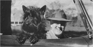 Roosevelt and Fala