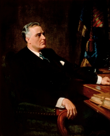 Franklin Roosevelt, Official White House Portrait