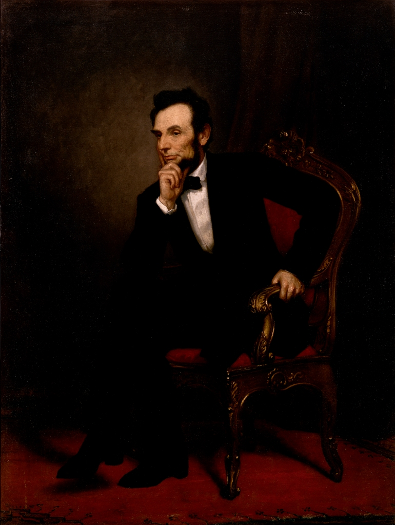 Abraham Lincoln, Official White House Portrait