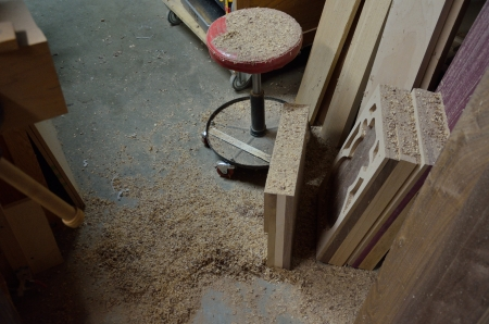 When you're making sawdust, it's a good weekend.