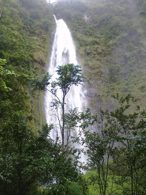 Waimoku Falls. Photo from the Haleakala National Park Facebook page.