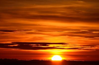 Sunrise over Haleakala, 2011.