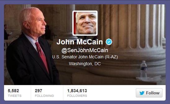 McCain Twitter