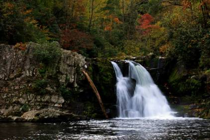 This photo of Abrams Falls was taken by Eric Hope on 10/27. Tweeted by the US Department of the Interior 10/30/13.