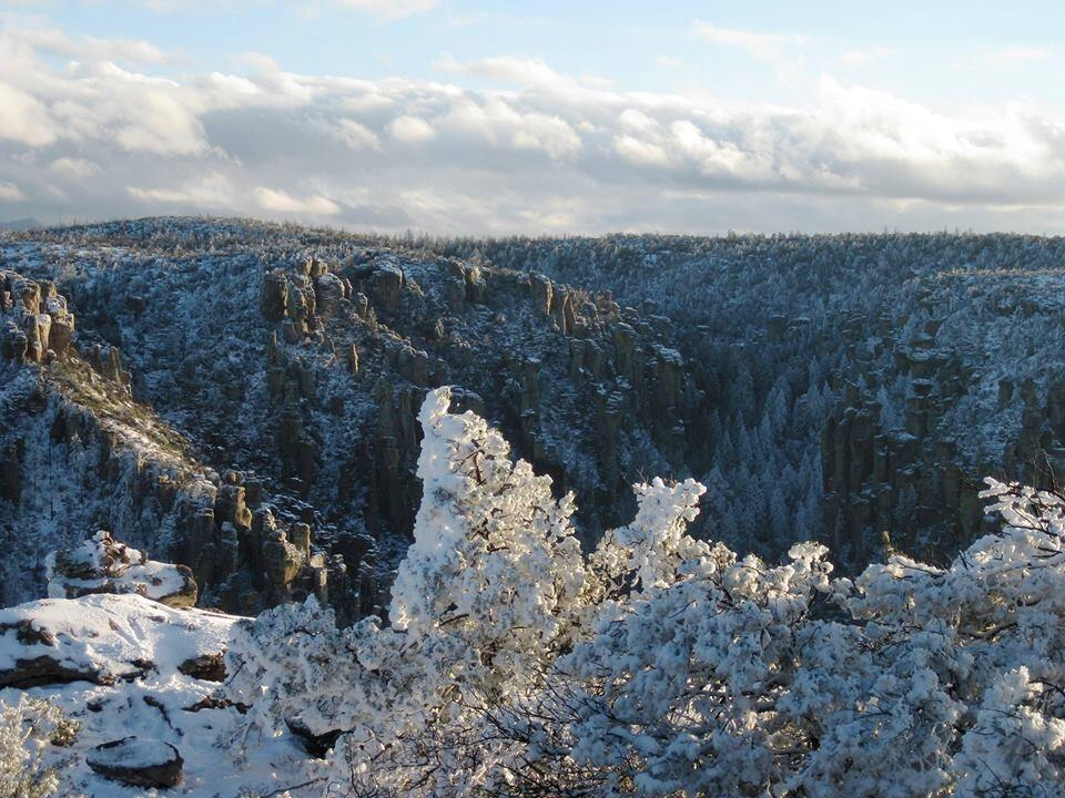Arizona's Chiricahua National Monument. Tweeted by the US Department of the Interior, 11/25/13.