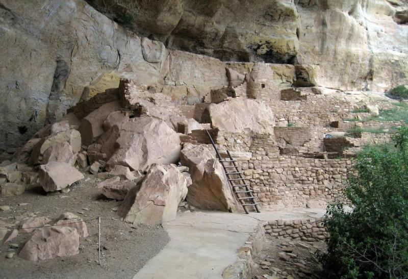 Mesa Verde Sandstone Rock Mortar : Mesa verde national park mowryjournal