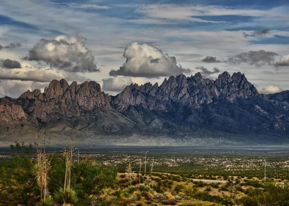 Organ Mountains, New Mexico. Tweeted by the US Department of the Interior, 8/28/13.