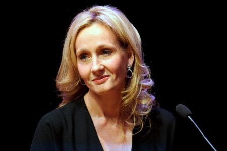 J. K. Rowling. Image by Ben A. Pruchnie/Getty