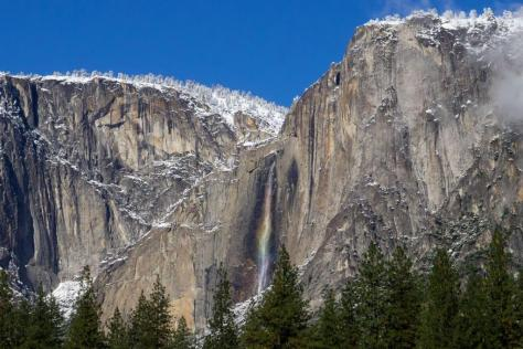 California's Upper Yosemite Falls. Tweeted by the US Department of the Interior, 12/15/14.