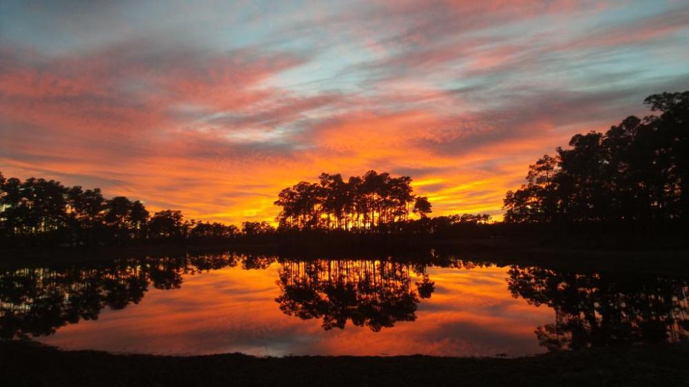 Sunset in Everglades National Park. Photo by Fabian Garcia. Tweeted by the US Department of the Interior 2/2/15.