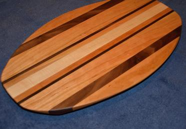Surfboard # 15 - 05. Cherry, Black Walnut and Hard Maple.