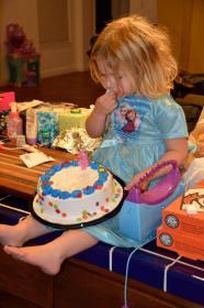 Her cake. HER cake.