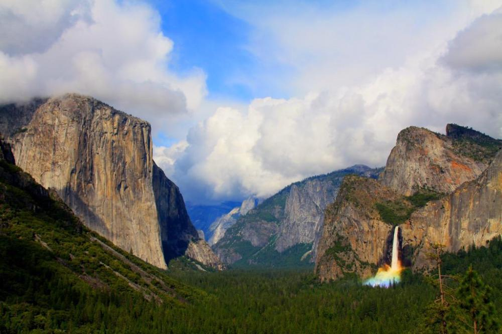 California's Yosemite National Park. Tweeted by the US Department of the Interior, 4/19/15.
