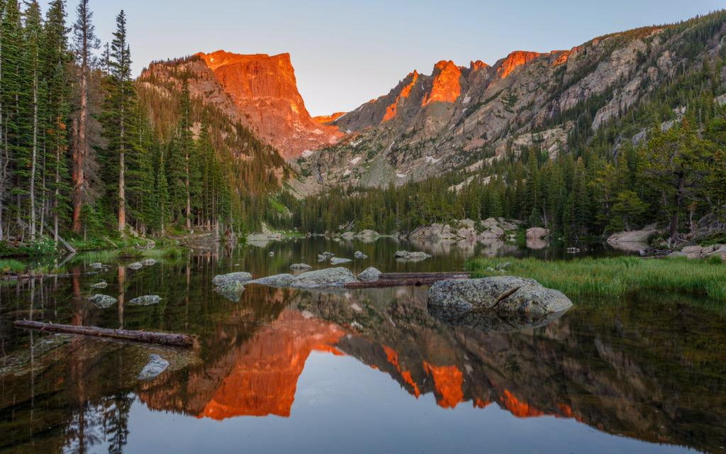 Rocky Mountain NP 34 – Dream Lake Sunrise