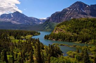 Montana's Glacier National Park. Photo by Jacob Barber. Tweeted by the US Department of the Interior, 5/31/15.