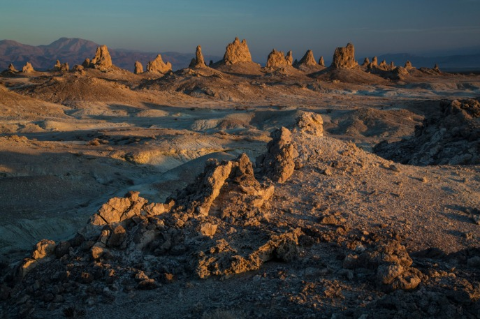 Trona Pinnacles. Photo by Bob Wicks. Posted on Tumblr by the US Department of the Interior, 6/2/15.
