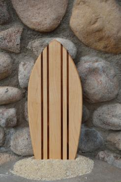 Small Surfboard # 15 - 03. Hard Maple & Jatoba.