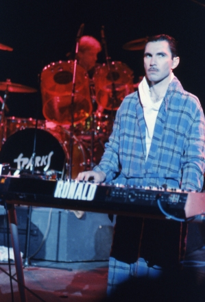 I loved how he took his brand name Roland keyboard ... and re-named it Ronald.