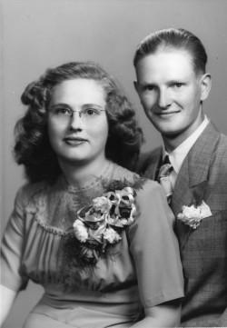 Robert & Letha Mowry, 1948