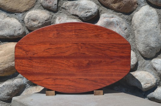 Large Surfboard # 15 - 26. Bloodwood.
