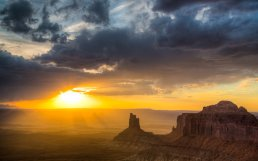 Sunset over Island in the Sky at Canyonlands National Park. Photo by Jeremy Stevens. Tweeted by the US Department of the Interior, 12/1/15.