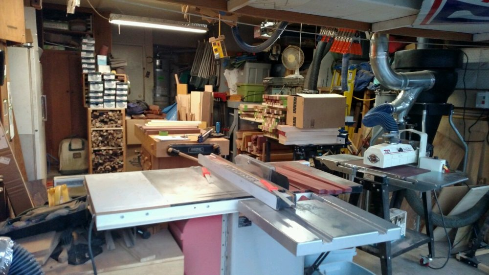 Mr M's Woodshop