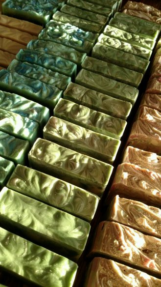 Soap Drying in Sunlight 02