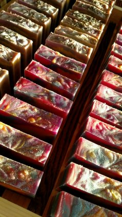 Soap Drying in Sunlight 03