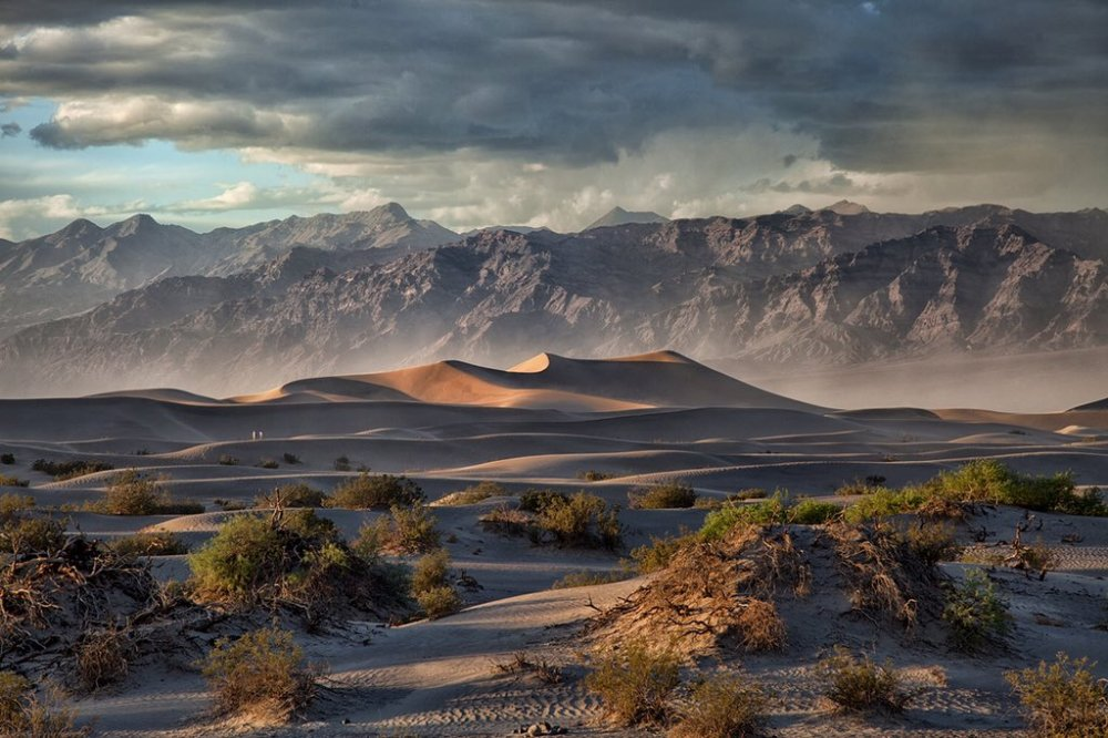 A stunning picture of a storm rolling through California's Death Valley National Park. Photo by Donna Fullerton. Tweeted by the US Department of the Interior, 3/11/16.