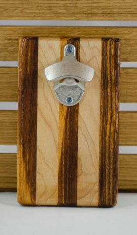 Magic Bottle Opener 16 - 047. Goncalo Alves & Hard Maple.