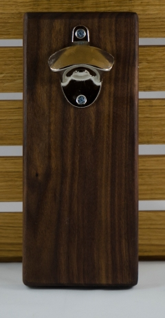 Magic Bottle Opener 16 - 048. Black Walnut.